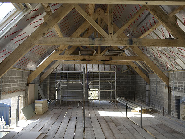 Leys Barn at Valley View - history